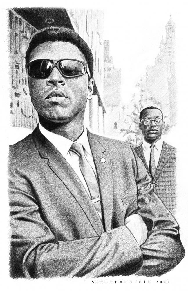 Muhammad Ali par StephenAbbott